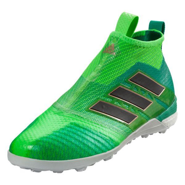 Zapatilla de Fútbol Sala Ace 16.1 Street Viper Vapour Green-Black Talla 11,5 UK