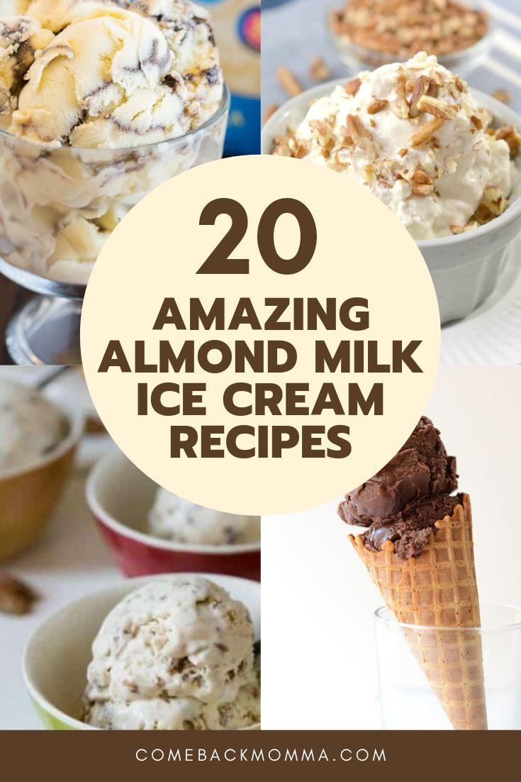 Das einfache Ersetzen der normalen Milch durch Mandelmilch kann den Unterschied i …   – Dessert Recipes