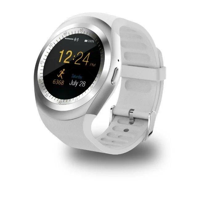 NEW ARRIVAL - Simplistic Round Business Smart Watch Support Nano SIM &TF Card with Whatsapp & Facebook for IOS Android