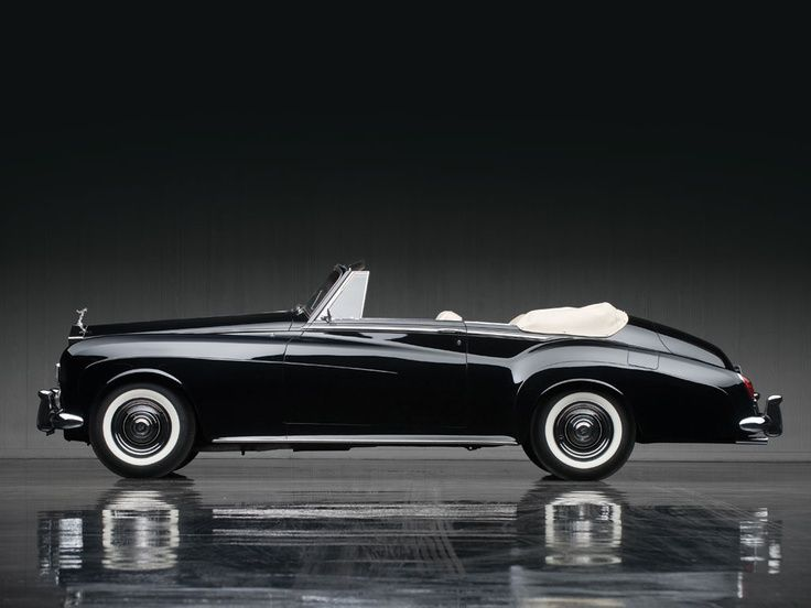 1965 Rolls-Royce Silver Cloud III Drophead Coupe by Mulliner Park Ward Perfection at its best.