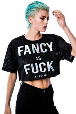 Killstar Gothic Fancy Crop Top