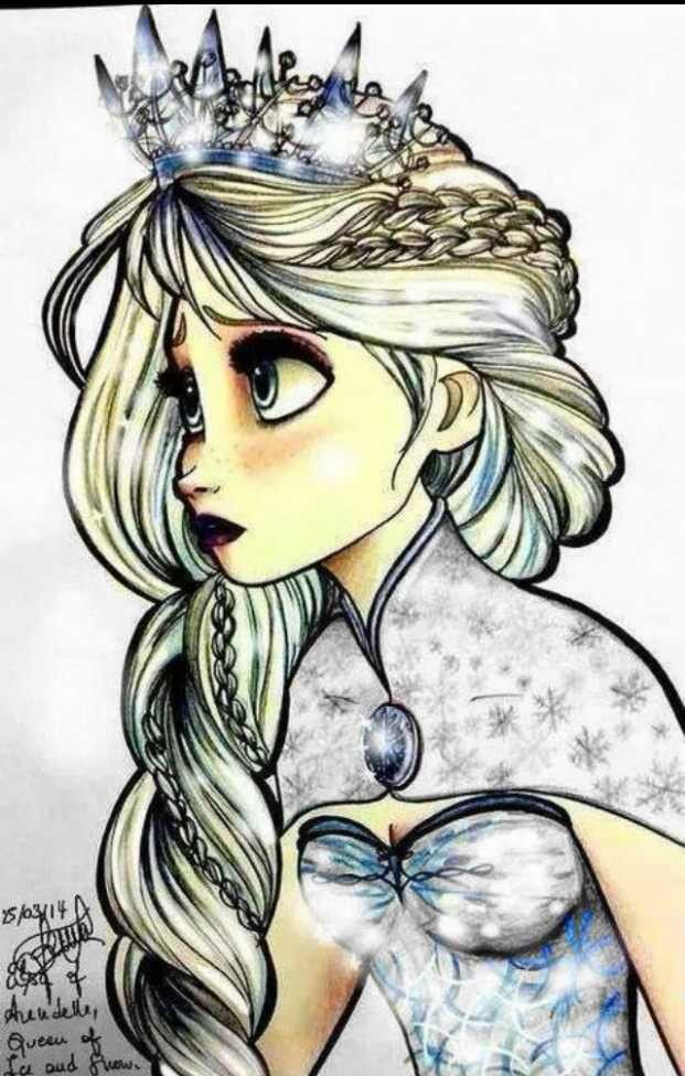 Name: Jacklene Age:15 Mom: Elsa Dad: ? All we know is FROST History: She is the daughter of a queen and is heir to arendelle throne, but isn't accepted as heir. She was put in our care by her father, because arendelle was at war... mother is dead. Birth: January, 1st 1999
