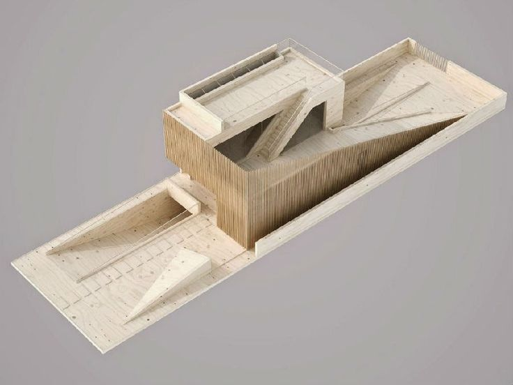 Department of Architecture must see the 160 ultra-fine architectural model | Foot Work︱ Walker design