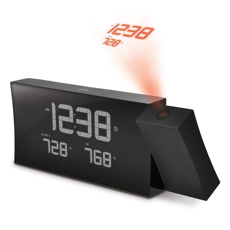 The Best Projection Clock - Hammacher Schlemmer
