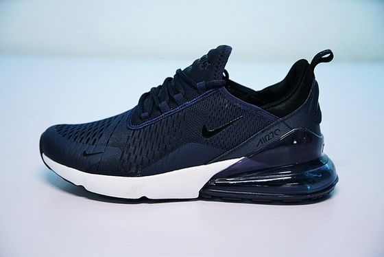 3d646bd09b677 Purchase Nike Air Max 270 Navy Blue White Ah8050 410 Low Price For Sale  Sneaker