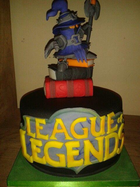 Torta League of leyends