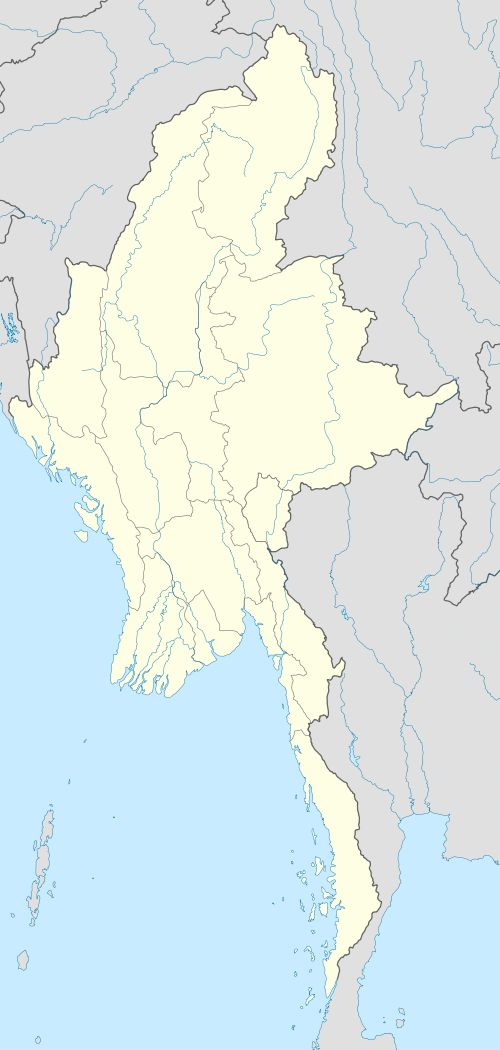 Lashio  လားရှိုးမြို့ is located in Myanmar