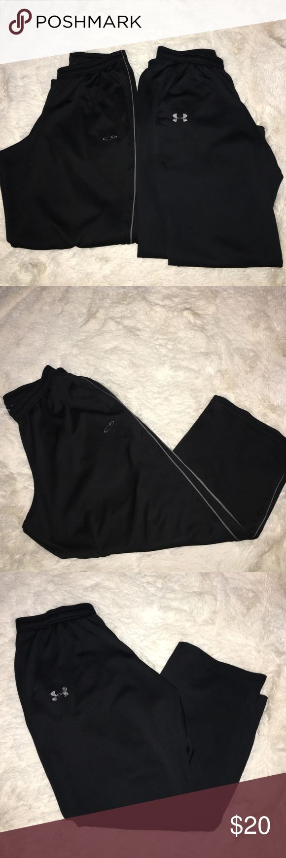 Under Armour sweatpants size Large Womens Large... track sweats under Armour & champion Pants Track Pants & Joggers