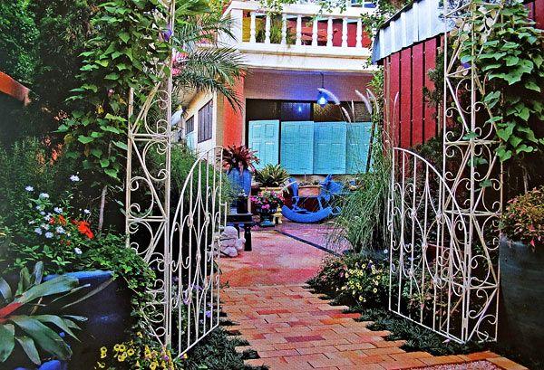 марокканский дизайн двора