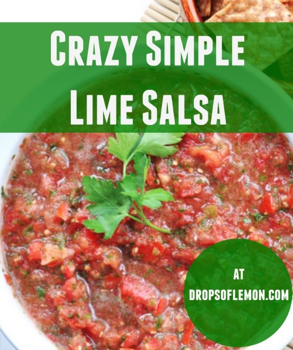 15 best young living essential oil food recipes images on just add 8 drops of yl lime eo to store bought salsa super easy young living oilsyoung forumfinder Gallery