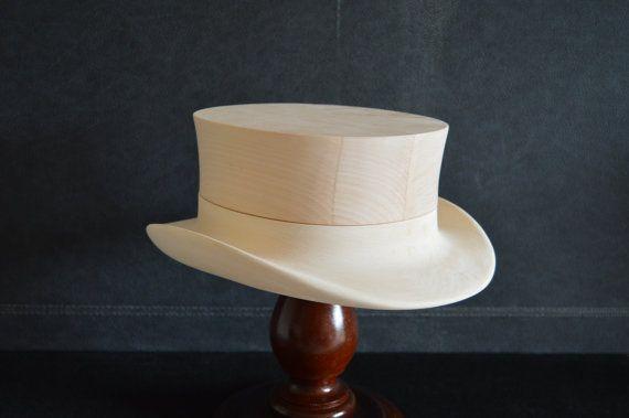 Pretty Millinery Wooden Hat Block by woodenhatblocks4u on Etsy