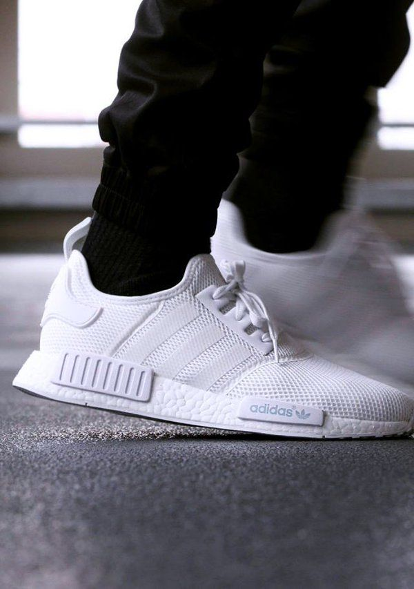 Just in time for spring weather, adidas is readying an all-white version of  its NMD sneaker. This pair features a full-mesh upper, which should make  for a ...