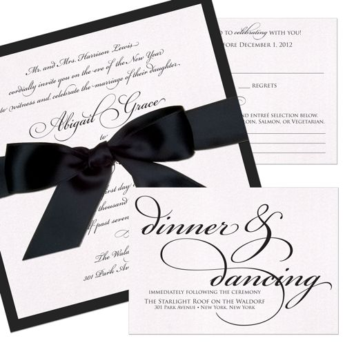 Grace - Unique Wedding Invitation by The Green Kangaroo