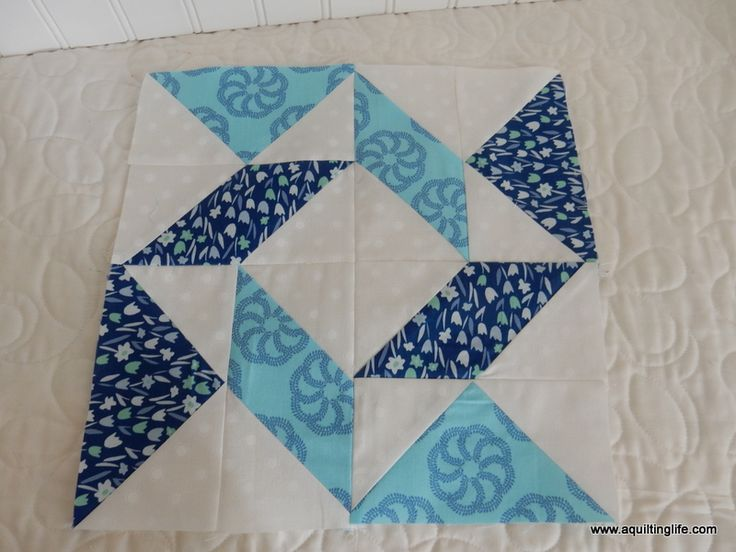 Quilting Life Block of the Month | January | A Quilting Life | Bloglovin'