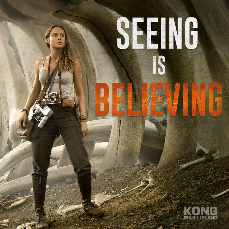 Her camera never lies. Brie Larson is Mason Weaver in #kongskullisland, now playing in theaters everywhere - Get Tickets