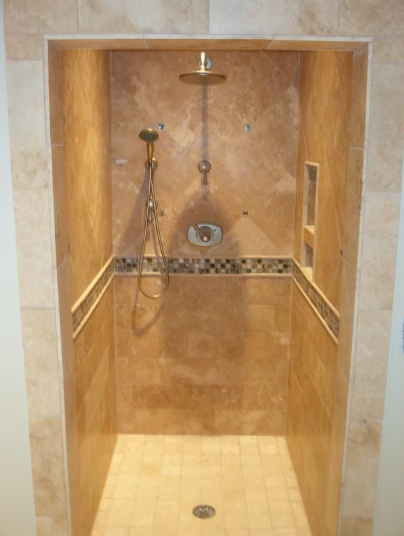 We have been building a lot of custom tile showers lately  It  39 s one of our favorite projects to do for our customers  We have built new showers for Churches. 1000  images about Bathroom ideas on Pinterest   Travertine  Tile