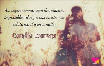 Citation d'amour de Camille Laurens