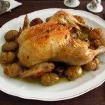 Image of Chicken with roasted potatoes | Food From Portugal