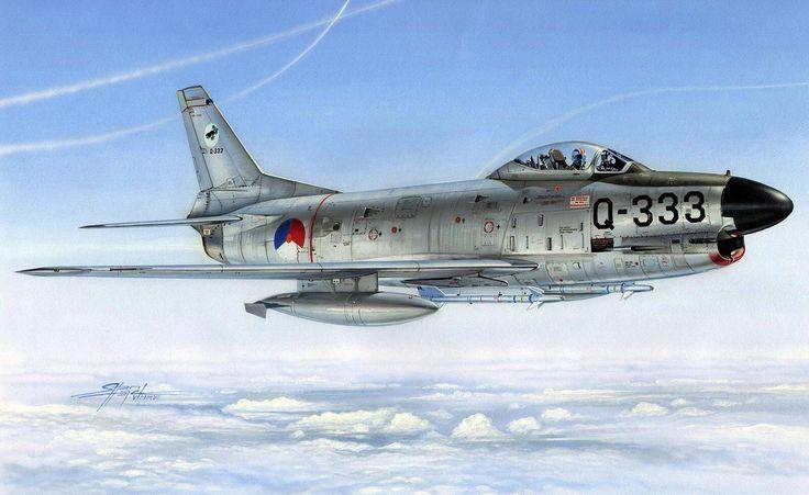 F-86K Sabre Dog Dutch Air Force (Stan Hajek)