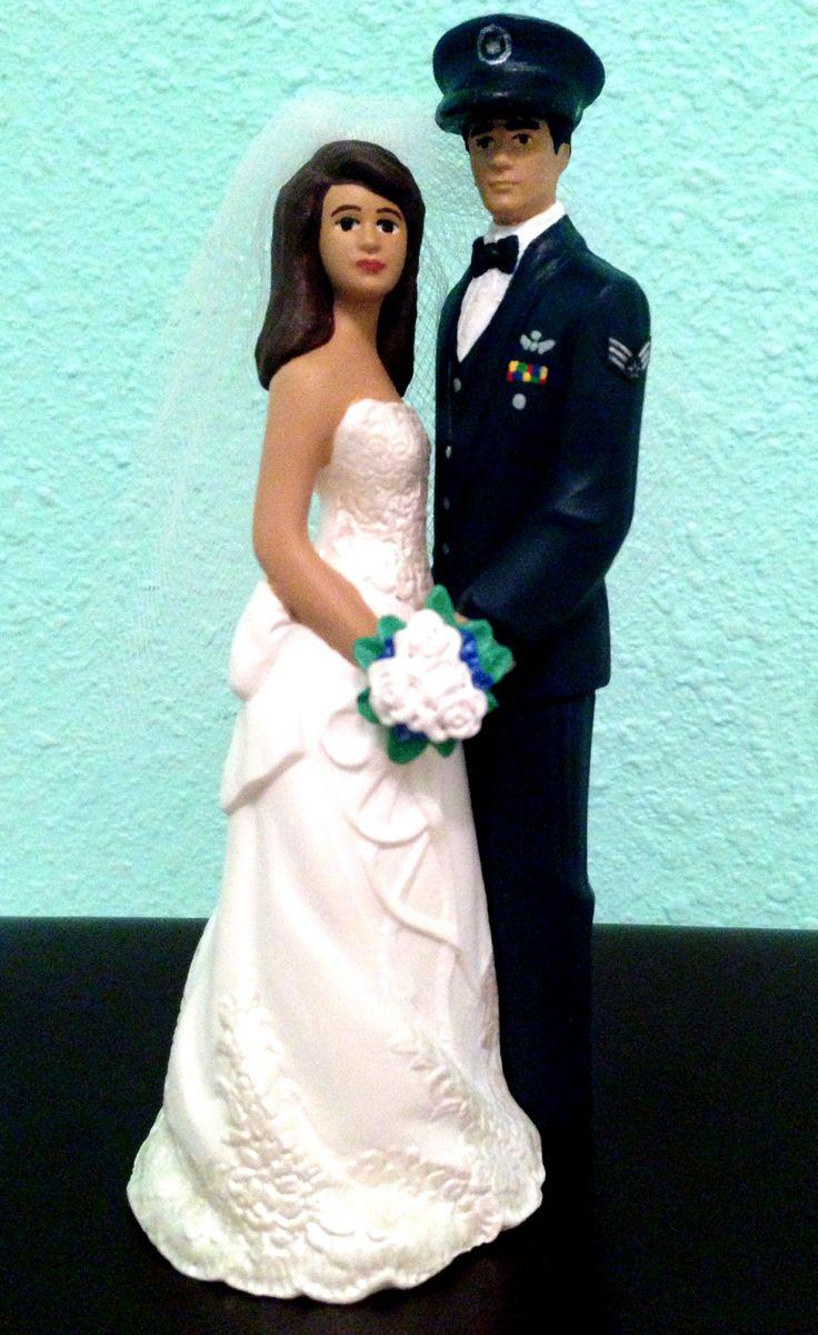 Military Wedding Cake Toppers Coast Guard Senior Chief Petty