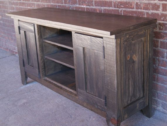 Good TV Stand / Media Console / Media Cabinet / Rustic By FurnitureFarm