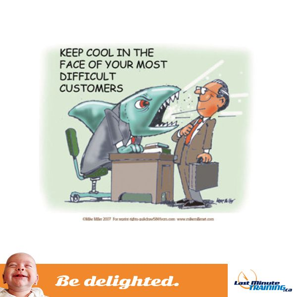 bedelighted, LMT, leftshark, last minute training, big deal, funny, customer service, office, employees, work, workplace, humour,