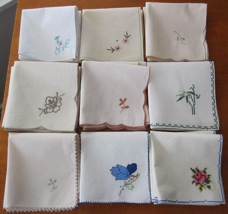 Table Napkins Bulk Lot Both Vintage And Replica Http Www Ebay
