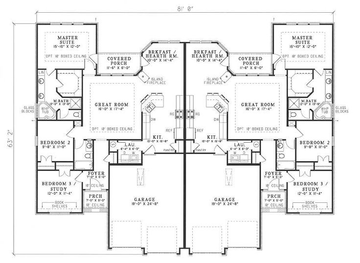 32 best images about duplex plans on pinterest for One bedroom duplex plans