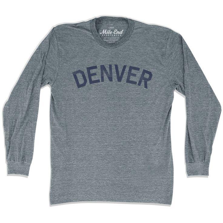Denver City Vintage Long Sleeve T-Shirt