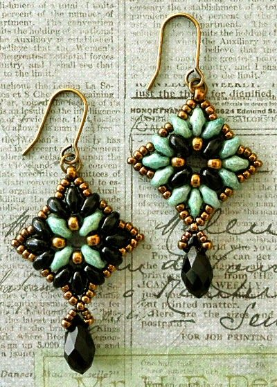 Linda's Crafty Inspirations: Mandala Earrings