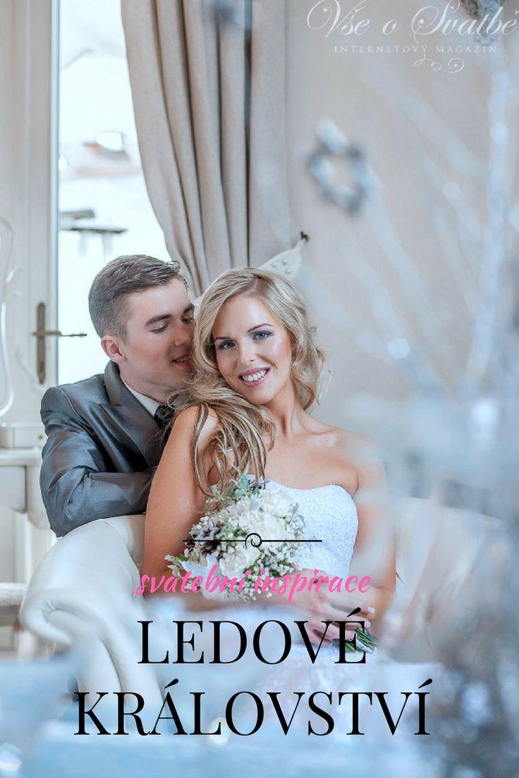 #Zimní svatební fotoeditoriál Ledové království. #Nápad na tématickou svatbu. #Zimní svatba. #Svatba v zimě. #Svatební inspirace.#winter wedding #wedding