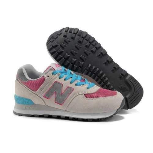 new balance 574 women pink