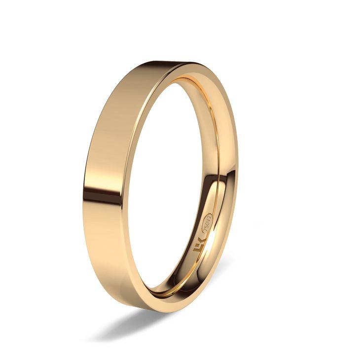 Alianza de oro rojo de 18K modelo Formad Ref.: 750ROJ25FORMADOro rojo de 18Kmodelo Formad superficie brillo #bodas, #alianzas, #novias