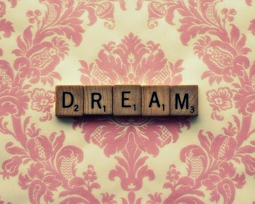 scrabble up a pink dream