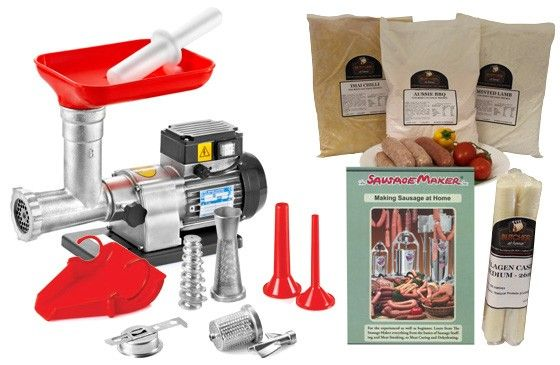 TRE SPADE // ALL IN ONE TRE SPADE SAUSAGE MAKING KIT - $495.00