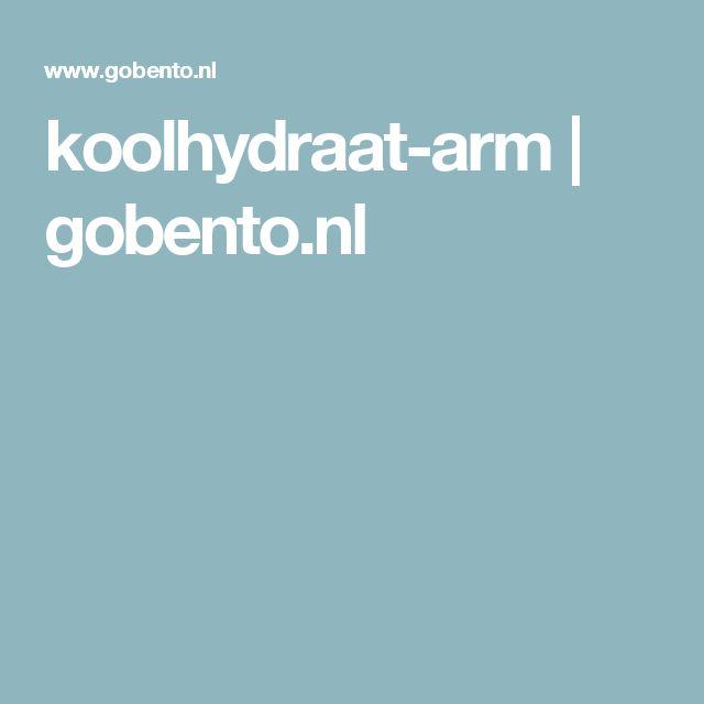 koolhydraat-arm | gobento.nl