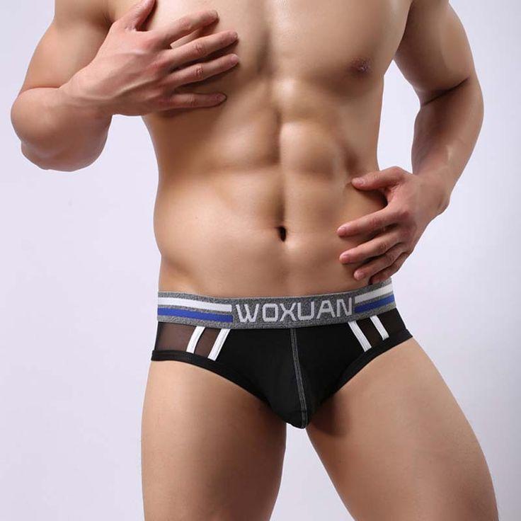 Sexy Mens Underwear Fashion Brand 2017 Men's Thong Transparent Mesh Jockstrap Gay Tanga Hombre Sous Vetement Homme Sexy Hot