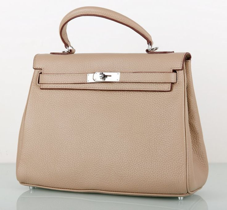 Сумка Hermes Kelly серая