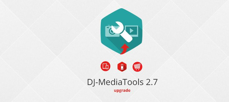 New version of DJ-MediaTools #Joomla #slideshow #extension with new integration plugins, improved responsiveness and new features is now available!