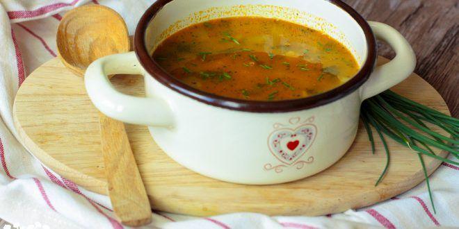 Hlivová minestrone