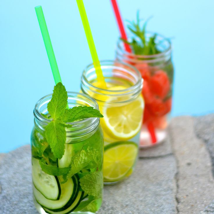 ANTI-AGING INFUSED WATERS FOR DETOX  Try these 3 simple fruit, herb, citrus and veggie infused water recipes.   So simple, anyone can do this. Reap the benefits of these detoxing, cleansing recipes that help:  - Prevent aging - Assist digestion - Deliver essential nutrients - Promote healthy skin, hair and nails - Boost energy - Cleanse & detox the body