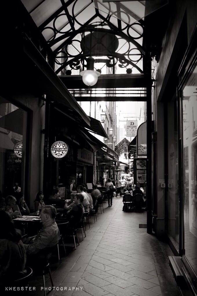 A look down a #Melbourne Lane way