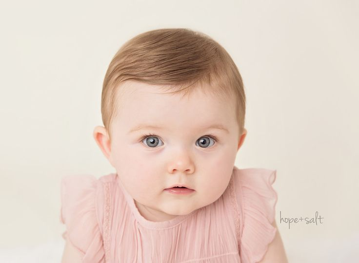 7-Month Sitter Girl Lily | Photographing babies ...