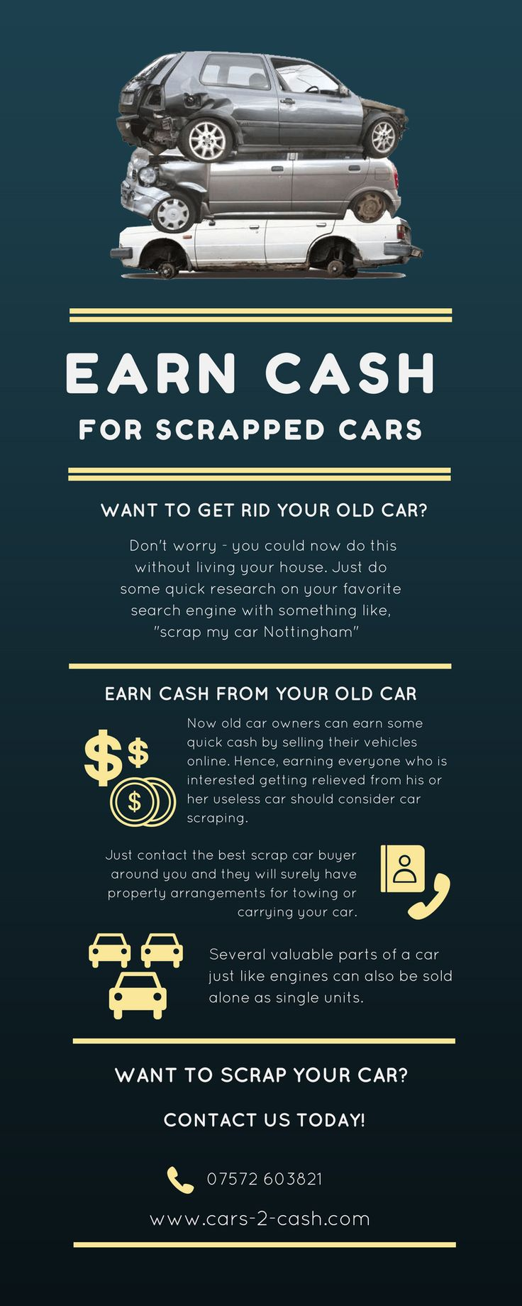 How to scrap car with no log book - Old Car Owners Can Earn Some Quick Cash By Selling Their Old Cars Hence