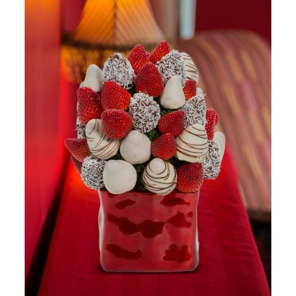 Snow Berry Blossom scent free fruit bouquet are great for all occasions and make great gifts ideas or decorations from a proud Canadian Company. Great alternative to traditional flowers or fruit baskets