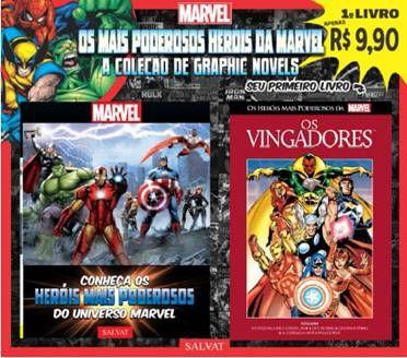 Heróis Marvel: Editora Salvat lança no Brasil nova coleção