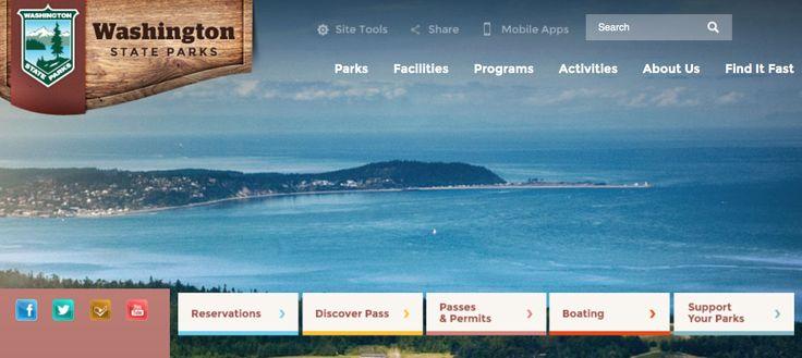 Washington State Parks website