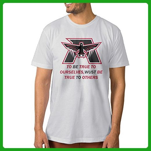 Men's Atlanta Football To Be True To Ourselves Designed Tee Shirt - Sports shirts (*Amazon Partner-Link)