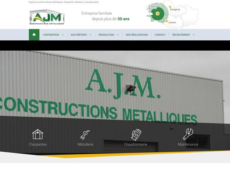 Installée à Châteauneuf du Faou (Finistère) depuis sa création il y a 50 ans, AJM est une entreprise familiale spécialisée dans les constructions métalliques.