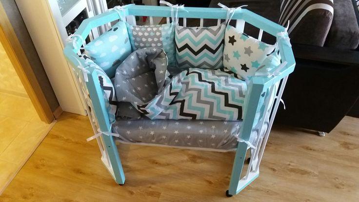 Детская кроватка, со съемным передним бортиком, наш бриллиант для будущего принца